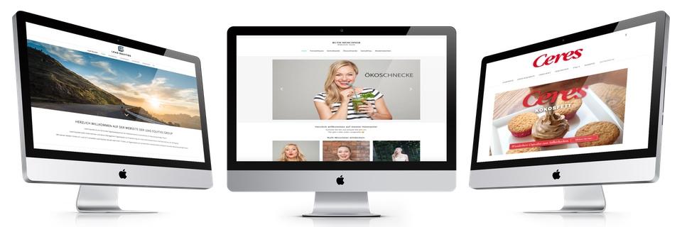 Wordpress Programmierung und WordPress Homepages für verschiedene Branchen.
