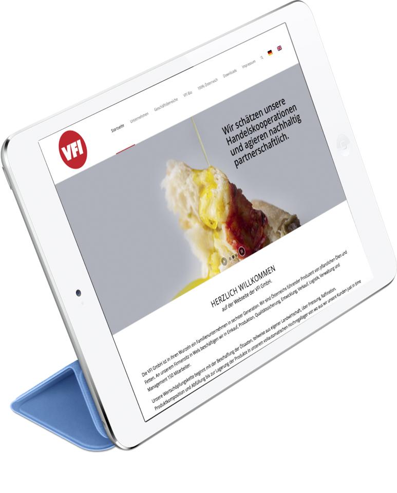 Hompage Programmierung für mittelständische Industrie. Wir entwickeln responsive Wordpress Websites für unsere Kunden.