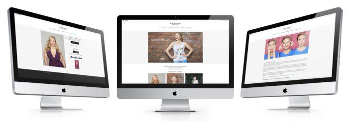 Webdesign und Homepage Erstellung für Prominente, Moderatorin, TV-Star. Wir programmieren Wordpress Websites.