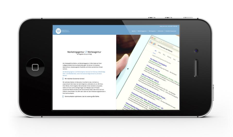 Webdesign für Werbeagentur , Wordpress Agentur One, wir entwickeln responsive, moderne Homepages