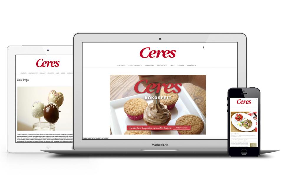 Homepage Erstellung für den Food und Beverage Bereich, Foodmarken.